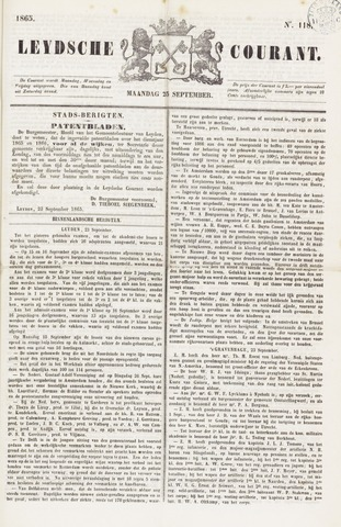 Leydse Courant 1865-09-25