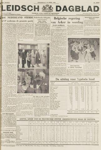 Leidsch Dagblad 1954-04-22