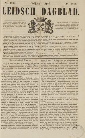 Leidsch Dagblad 1864-04-01