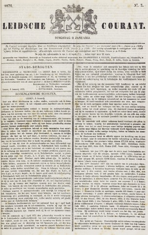 Leydse Courant 1872-01-09