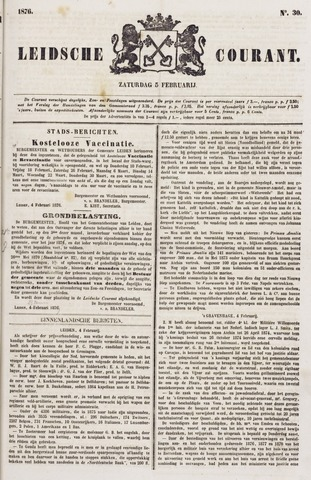 Leydse Courant 1876-02-05