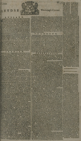 Leydse Courant 1744-04-29