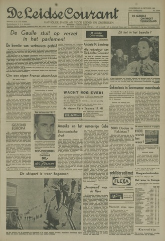 Leidse Courant 1960-10-20