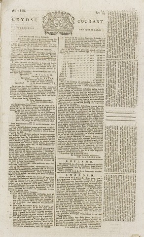 Leydse Courant 1818-02-25
