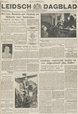 Leidsch Dagblad 1956-09-21
