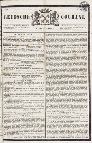 Leydse Courant 1865-03-06