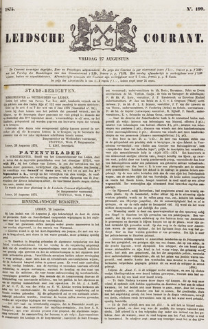 Leydse Courant 1875-08-27