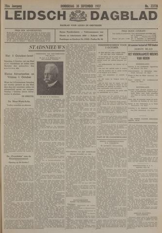 Leidsch Dagblad 1937-09-30