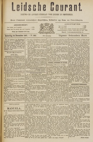 Leydse Courant 1887-12-24