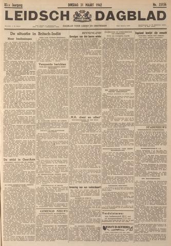 Leidsch Dagblad 1942-03-31