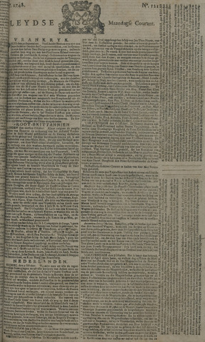 Leydse Courant 1748-10-07