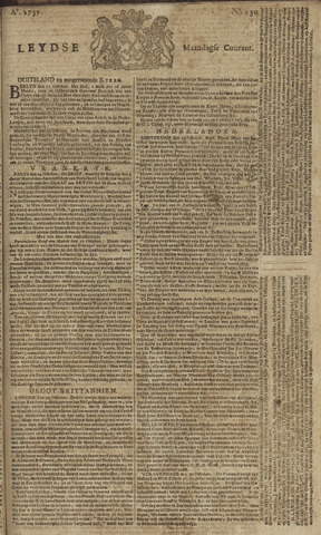 Leydse Courant 1757-10-31