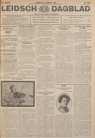 Leidsch Dagblad 1930-01-18