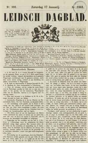 Leidsch Dagblad 1863-01-17