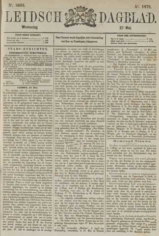 Leidsch Dagblad 1878-05-22