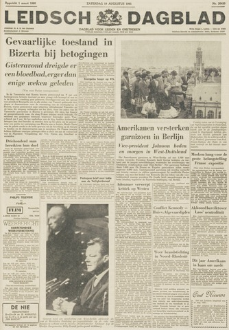 Leidsch Dagblad 1961-08-19