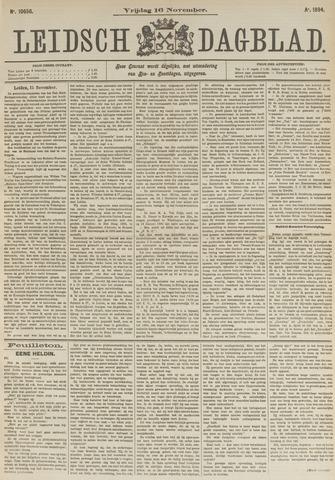 Leidsch Dagblad 1894-11-16