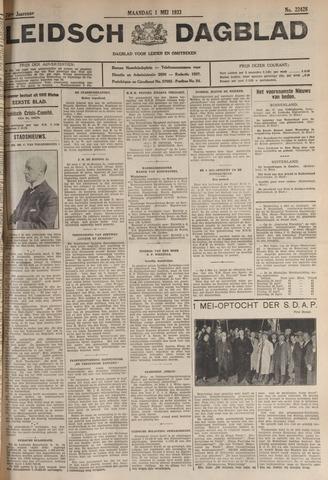 Leidsch Dagblad 1933-05-01