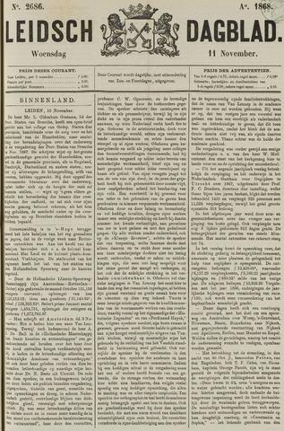 Leidsch Dagblad 1868-11-11
