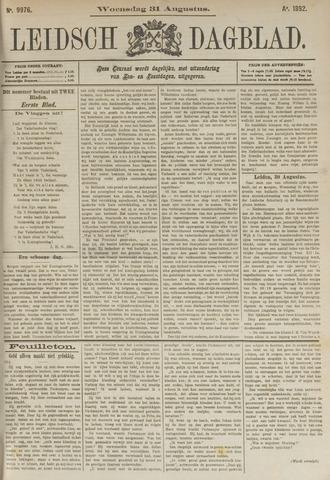 Leidsch Dagblad 1892-08-31
