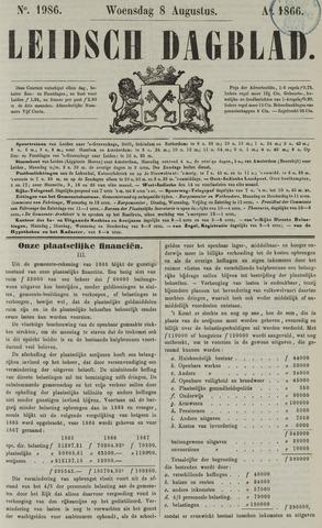 Leidsch Dagblad 1866-08-08