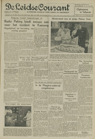 Leidse Courant 1951-08-06