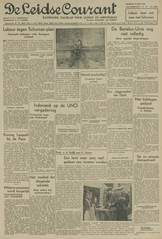 Leidse Courant 1950-06-13