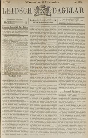 Leidsch Dagblad 1885-12-02