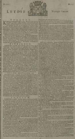 Leydse Courant 1727-09-19