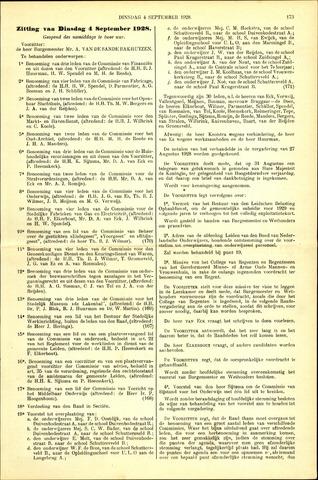 Handelingen van de Raad 1928-09-04