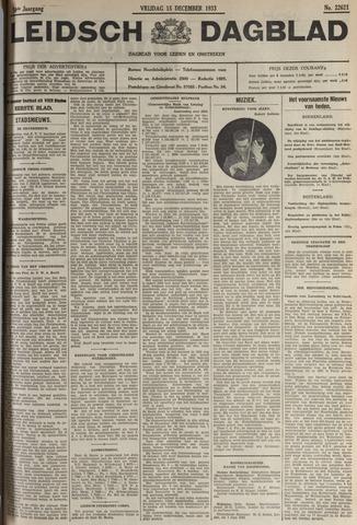 Leidsch Dagblad 1933-12-15