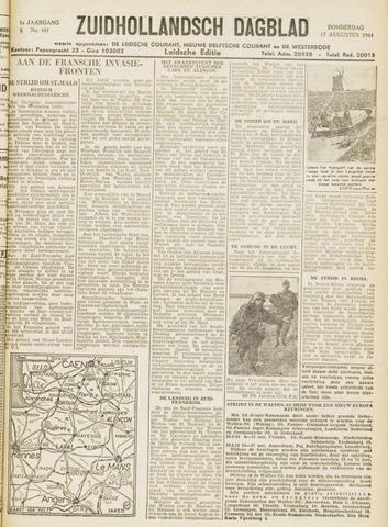 Zuidhollandsch Dagblad 1944-08-17