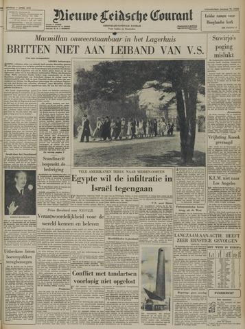 Nieuwe Leidsche Courant 1957-04-02