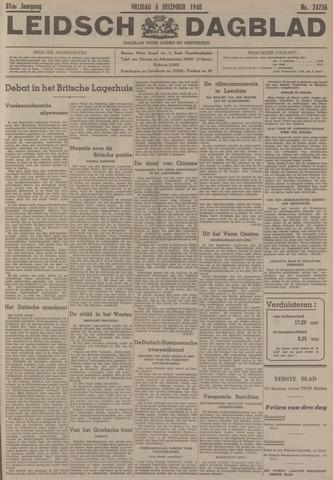 Leidsch Dagblad 1940-12-06