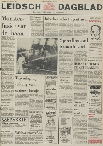 Leidsch Dagblad 1973-08-31