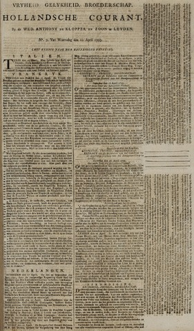 Leydse Courant 1795-04-22