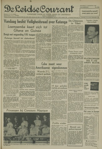 Leidse Courant 1960-08-08