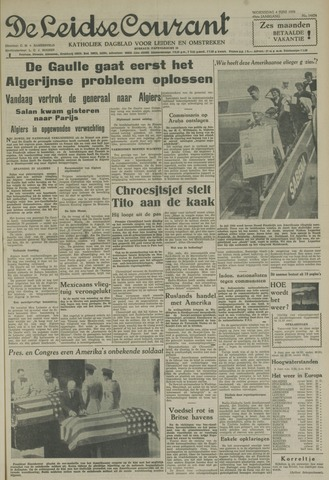 Leidse Courant 1958-06-04