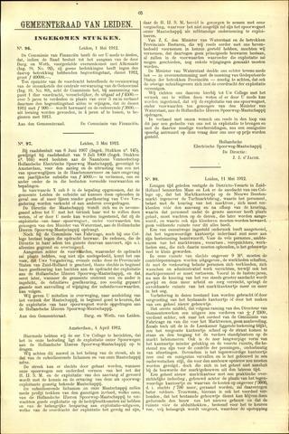 Handelingen van de Raad 1912-05-01