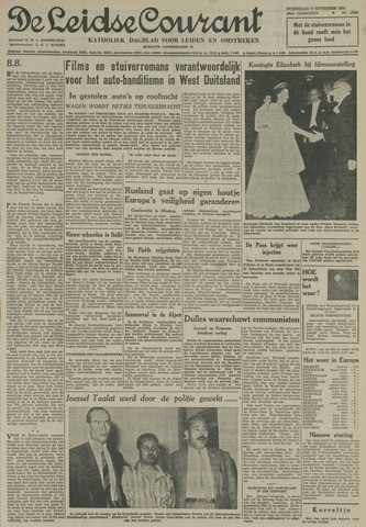 Leidse Courant 1954-11-17