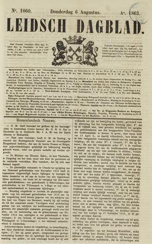 Leidsch Dagblad 1863-08-06