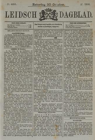 Leidsch Dagblad 1880-10-30