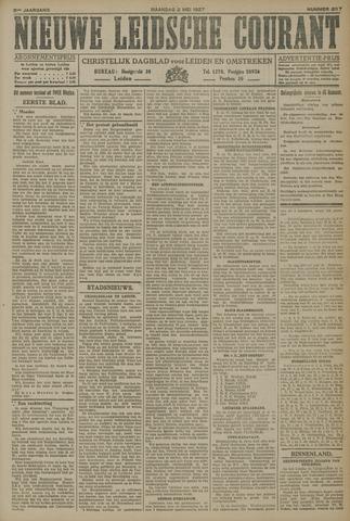 Nieuwe Leidsche Courant 1927-05-02