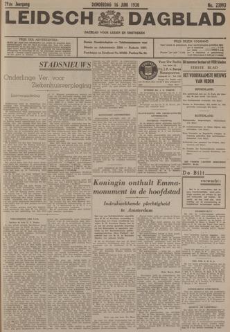 Leidsch Dagblad 1938-06-16