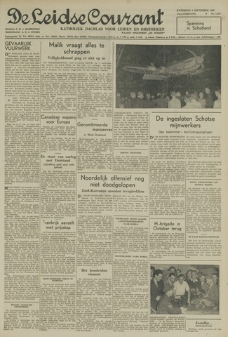 Leidse Courant 1950-09-09