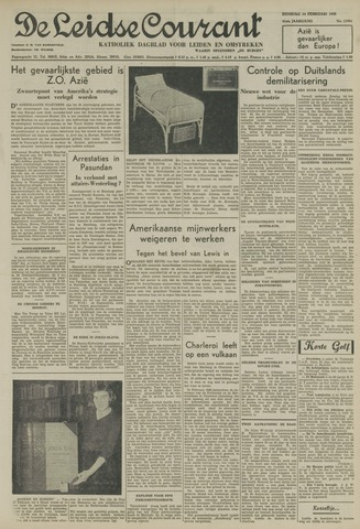 Leidse Courant 1950-02-14