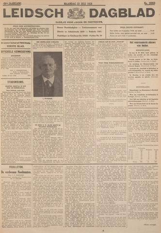 Leidsch Dagblad 1928-07-23