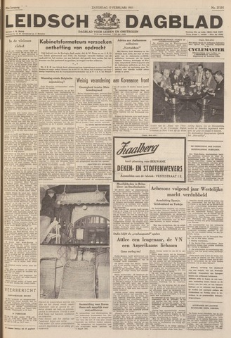 Leidsch Dagblad 1951-02-17