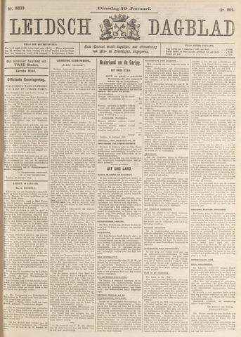 Leidsch Dagblad 1915-01-19