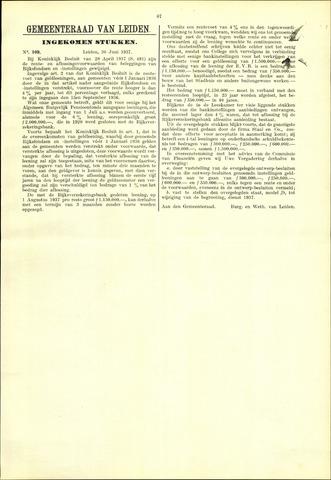 Handelingen van de Raad 1937-07-30